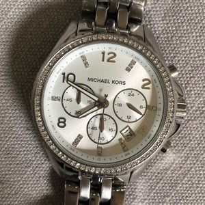 Authentic Michael Kors MK Watch Crystal